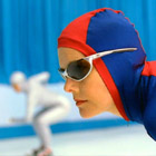 TVC: Bank of America – speed skater